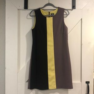 Vince Camuto Color Block Shift Dress